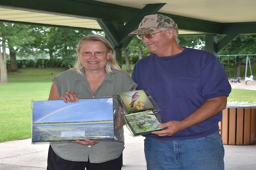 Bob & Sue receive Annual Stewardship Award